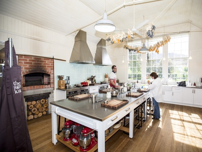 The Agrarian Kitchen cooking school, Tasmania