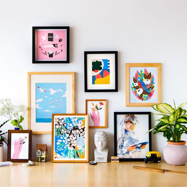 Papirmass turns any home into an art gallery