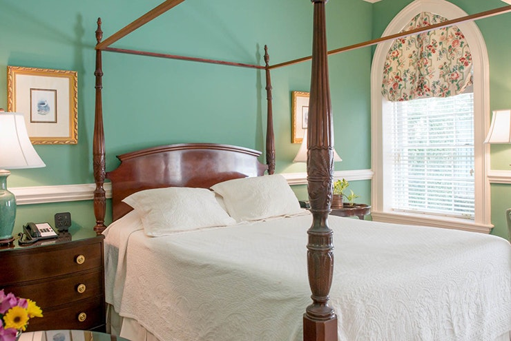 Take part in local history when you stay in a colonial-era home.
