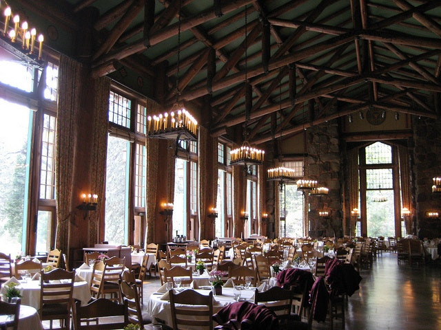 The elegance of the Majestic Yosemite Hotel