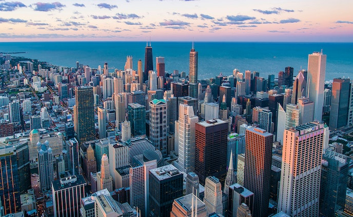 Pisces shouldn't miss out on personal fun during their 2019 professional adventures, like catching the view from the Willis Tower Skydeck in Chicago.