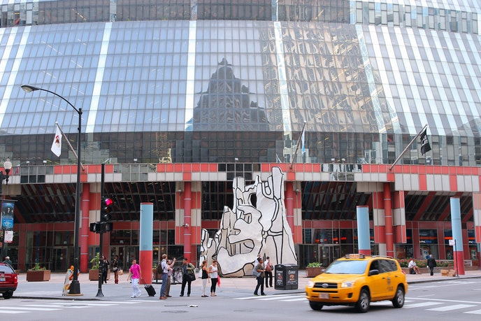 The James R. Thompson Center in Chicago may be sold and demolished.
