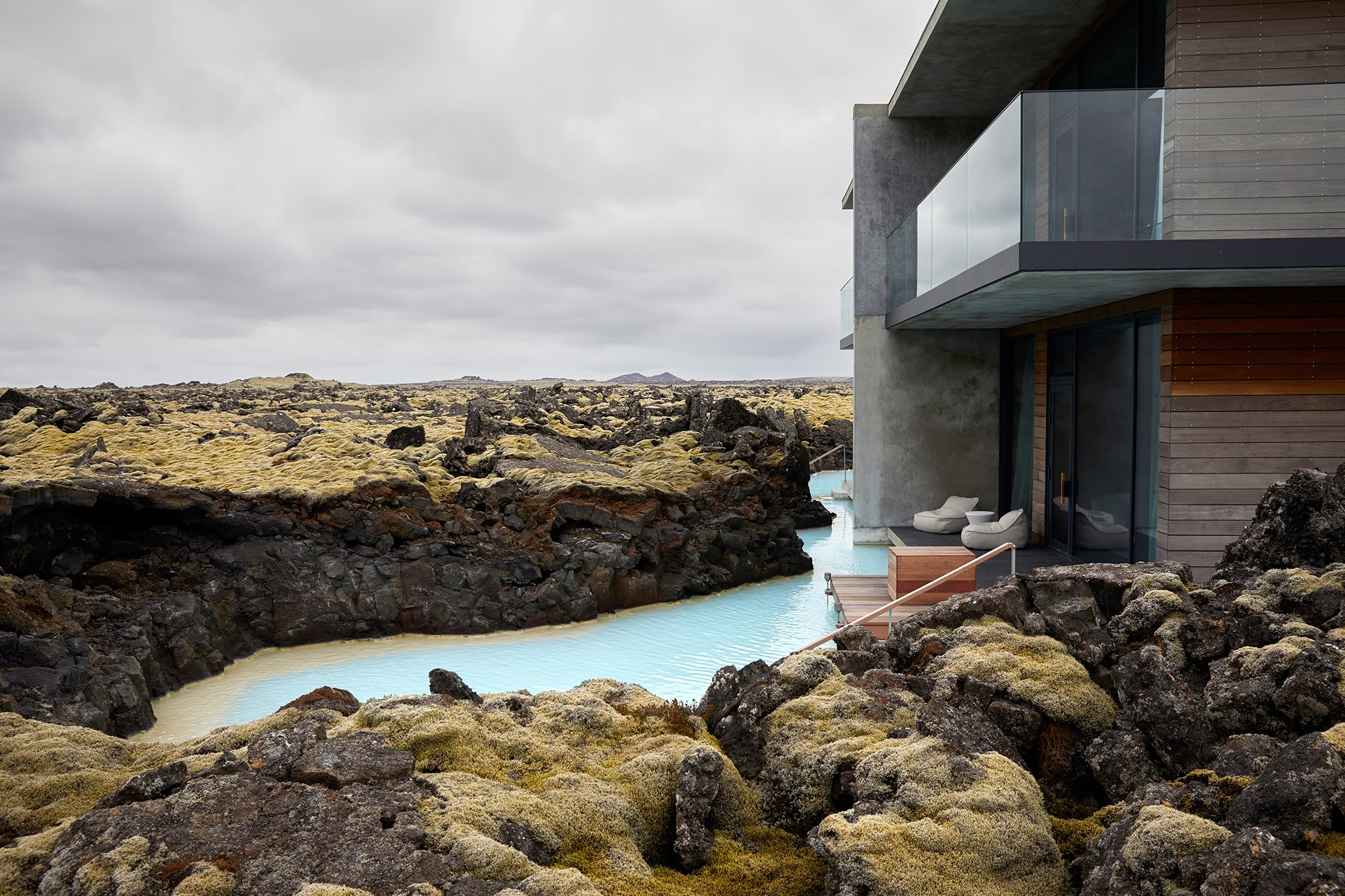 Some suites at The Retreat at the Blue Lagoon have their own private lagoons.