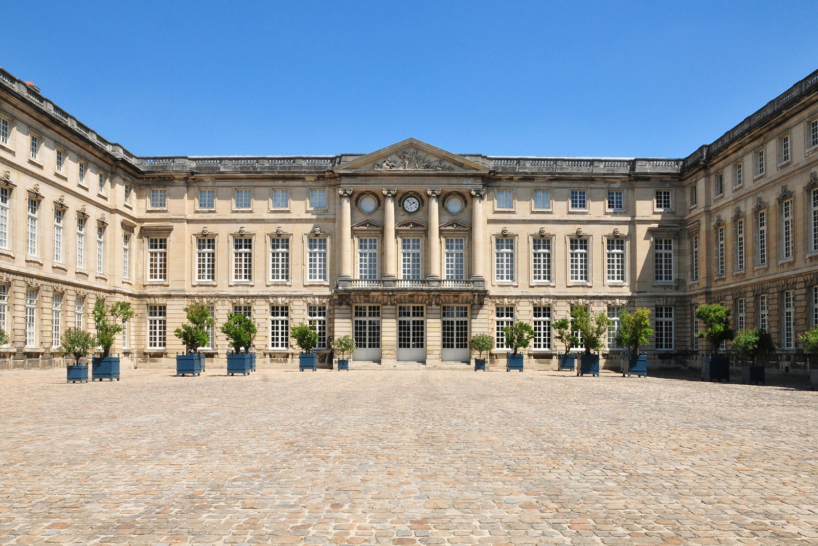The Palais du Compiègne was built for Louis XV and later used as the autumn residence of Napoleon III.