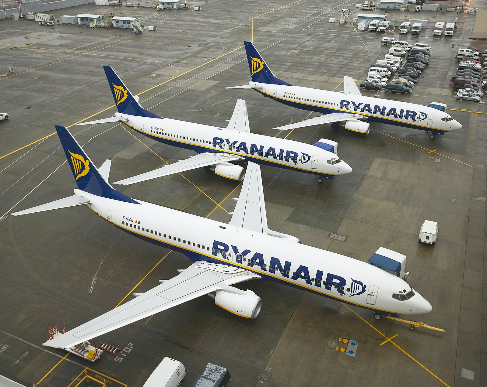 RyanAir is a popular low-cost airline in Europe.