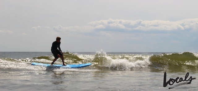 A surf lesson with Locals Surf School in the Rockaways