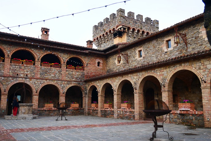 Castello di Amorosa winery is among the 17 wineries included in this winter's passport.
