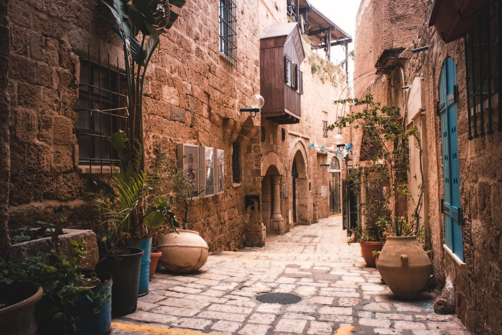 Jaffa is the oldest part of Tel Aviv, with archaeological history dating back nearly 10,000 years.