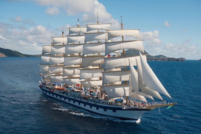 """You can quite literally sail through the Panama Canal on the """"Royal Clipper."""""""