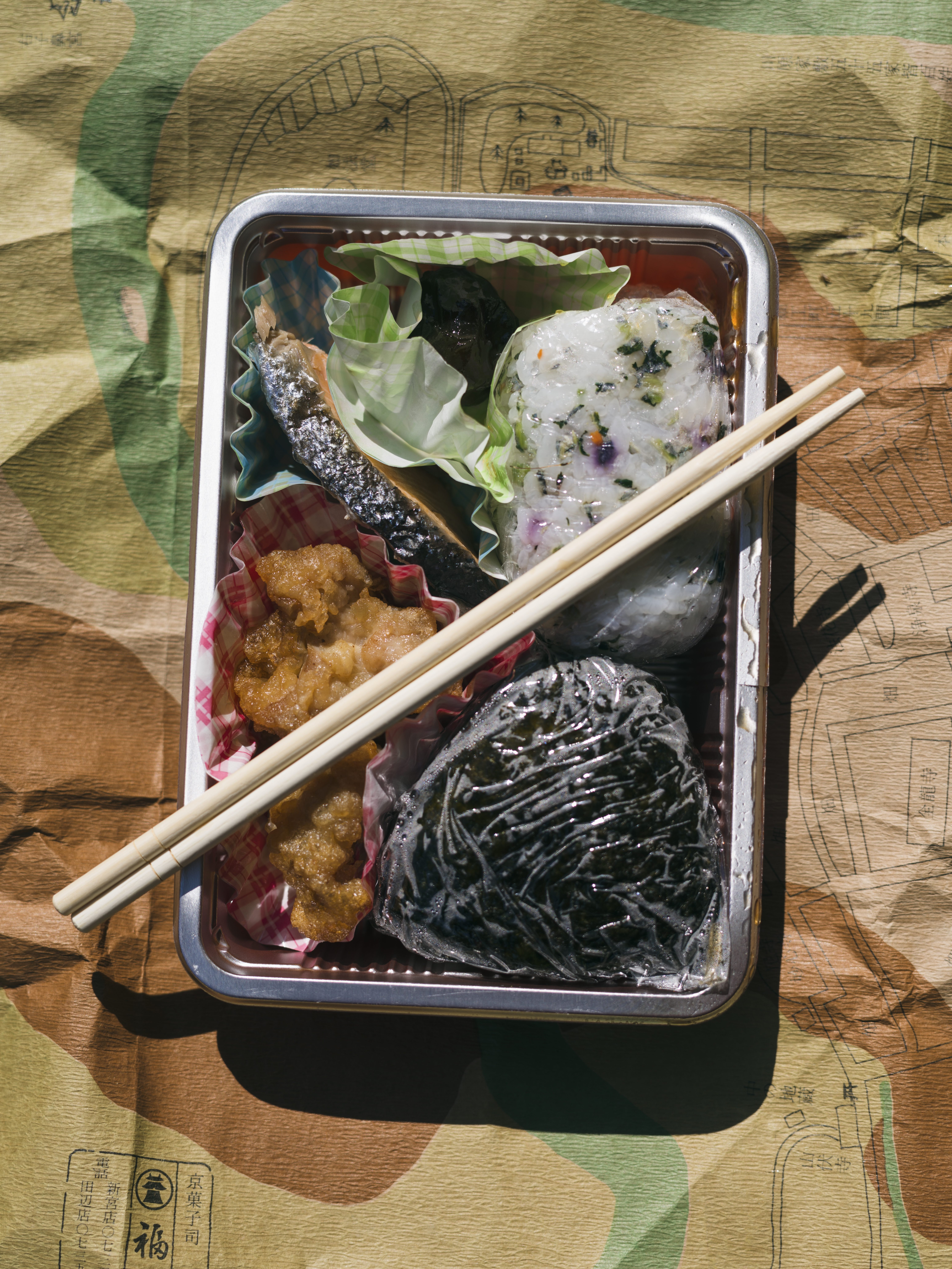 A packed lunch for the trail