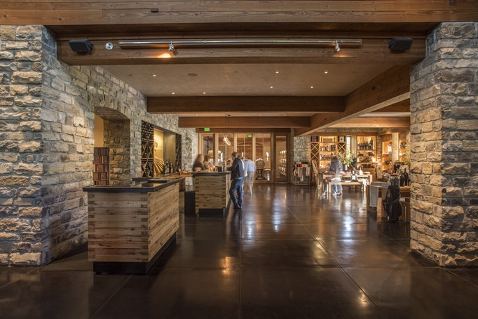At Silver Oak Cellars, you can do a walk-in tasting or make an appointment.