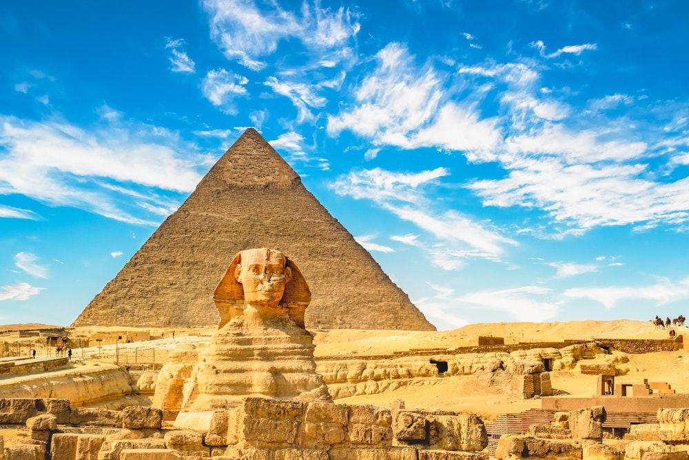 Travelers have been going to Egypt to see its famous archaeological ruins for centuries.