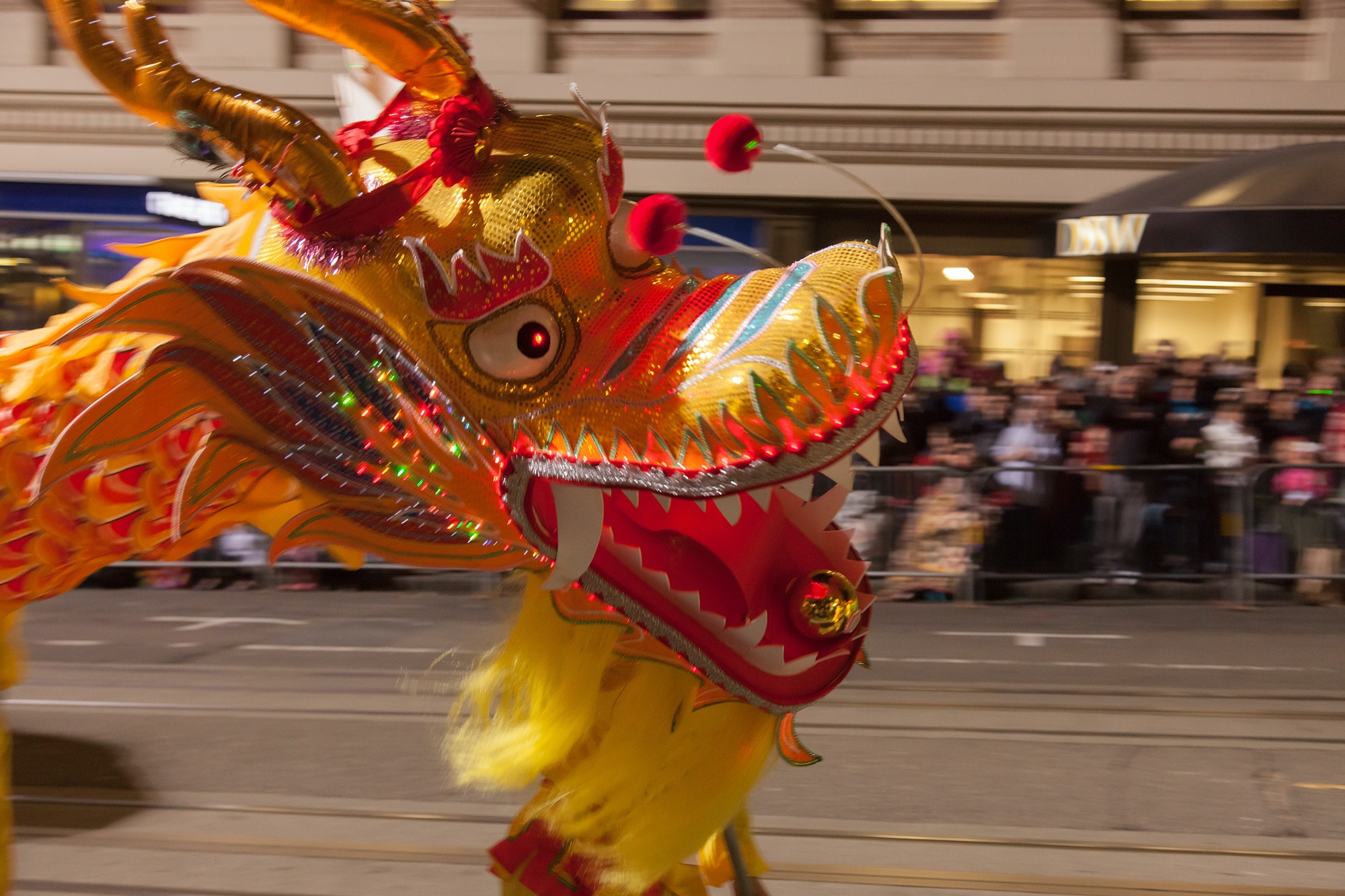 The Chinese New Year Parade takes place in San Francisco on February 23 this year.