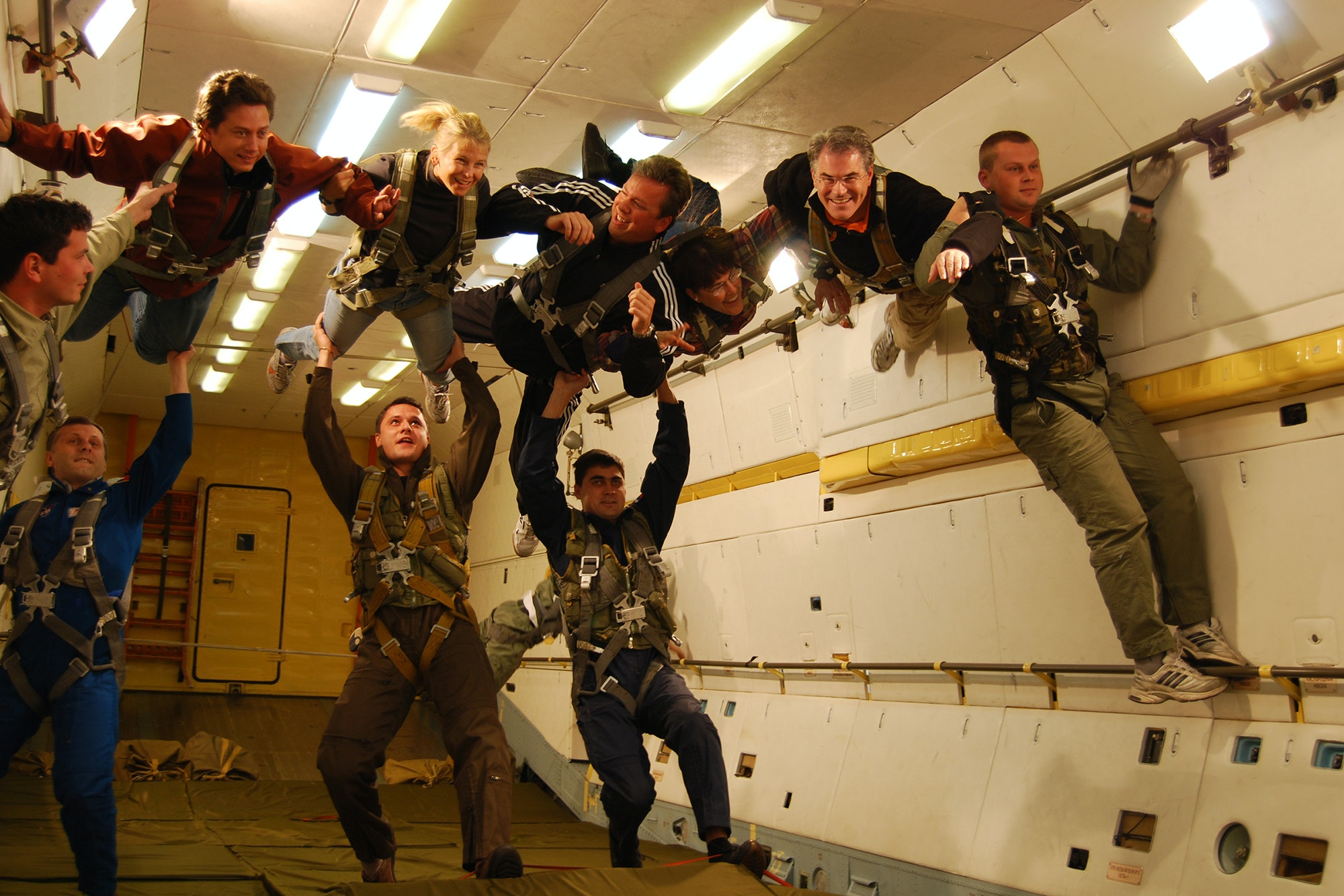 If you opt into the cosmonaut training, you can take a Zero-G flight.
