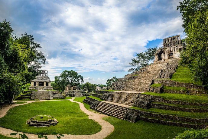 Visit sites such as the Mayan ruins outside of Puerto Chiapas on Windstar's Mexico-heavy sailings.