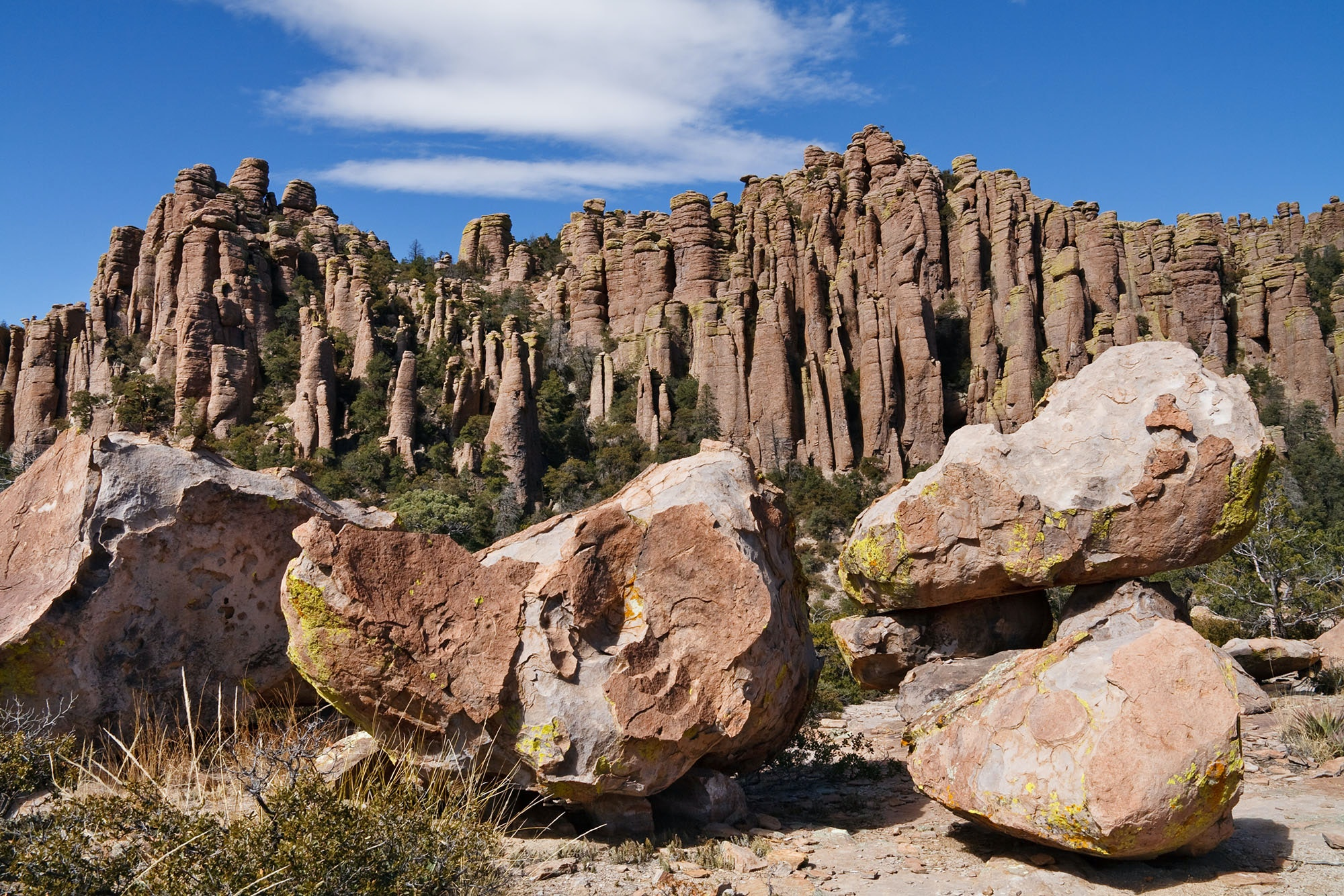 Despite being quite isolated, Chiricahua National Monument has become a favorite destination for local hikers.