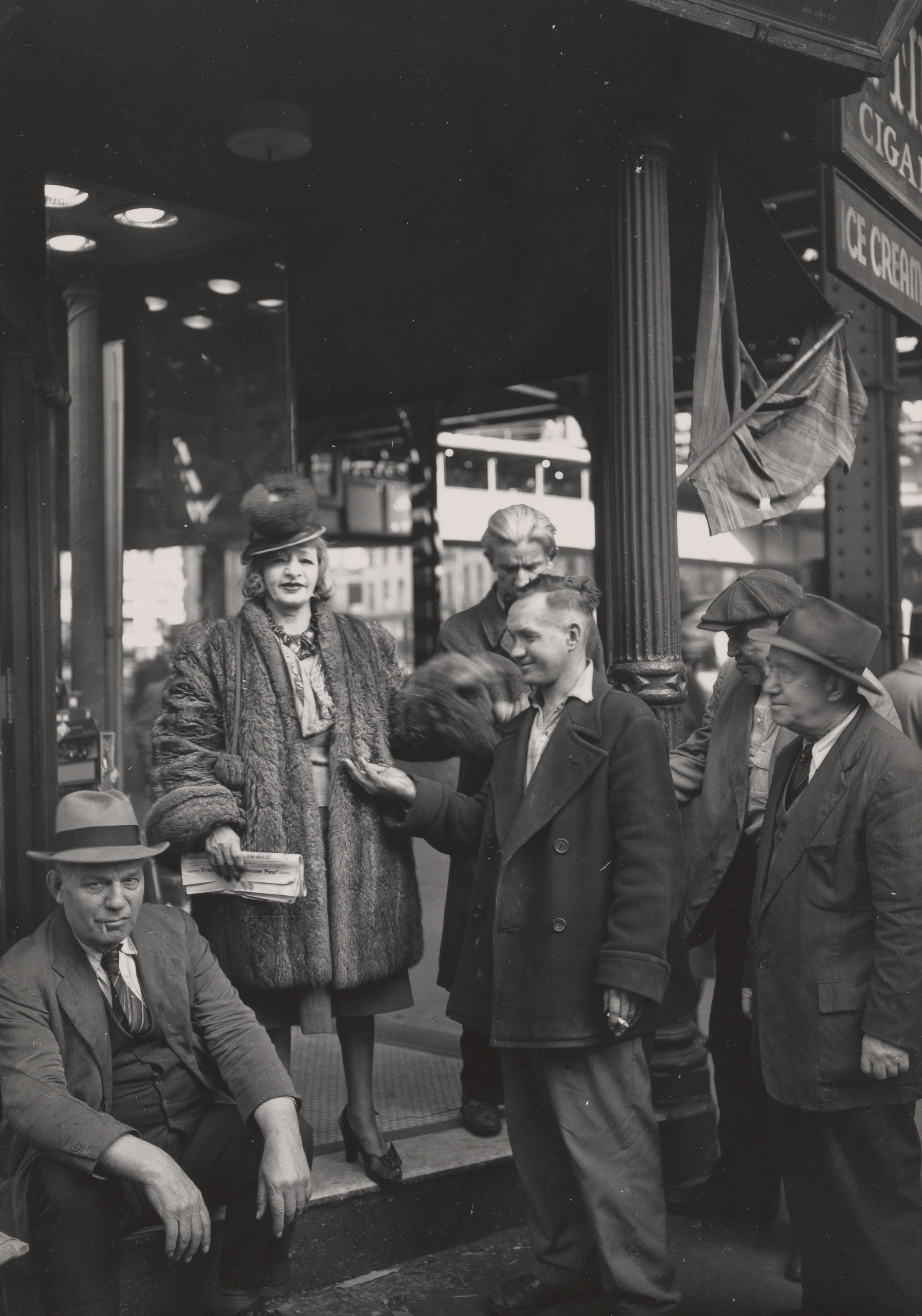 Mazie, Queen of the Bowery, New York, 1946