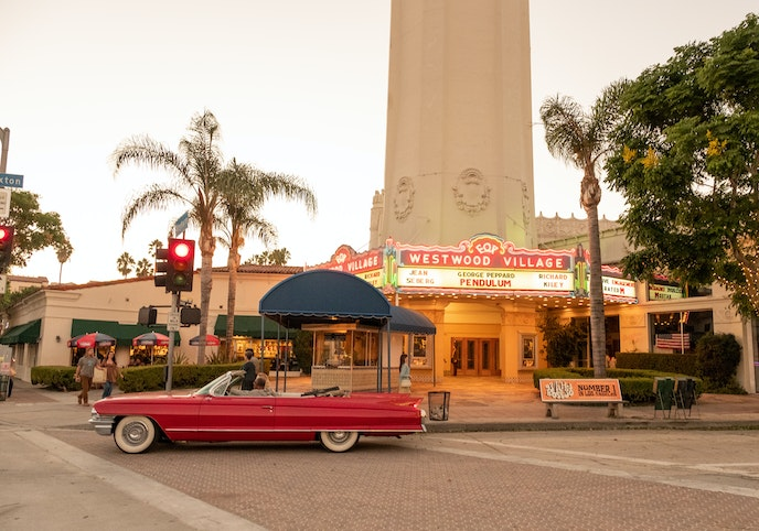 The Mission revival–style Fox Theater (also known as the Fox Village Theater) is a landmark cinema in the Westwood neighborhood of Los Angeles.