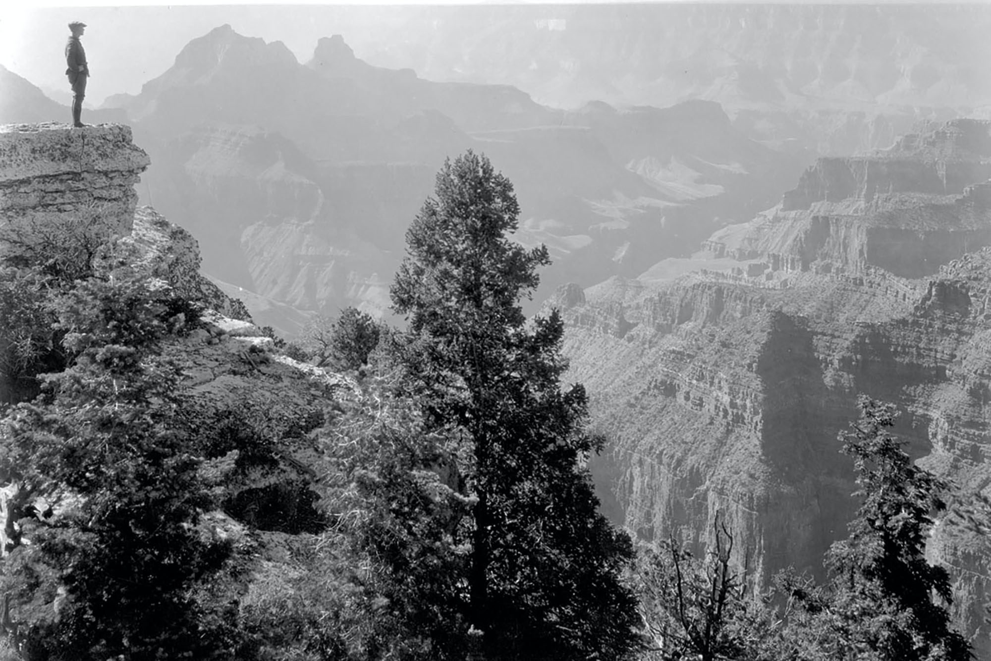 In 1919, President Woodrow Wilson created Grand Canyon National Park, preserving the area for future generations.