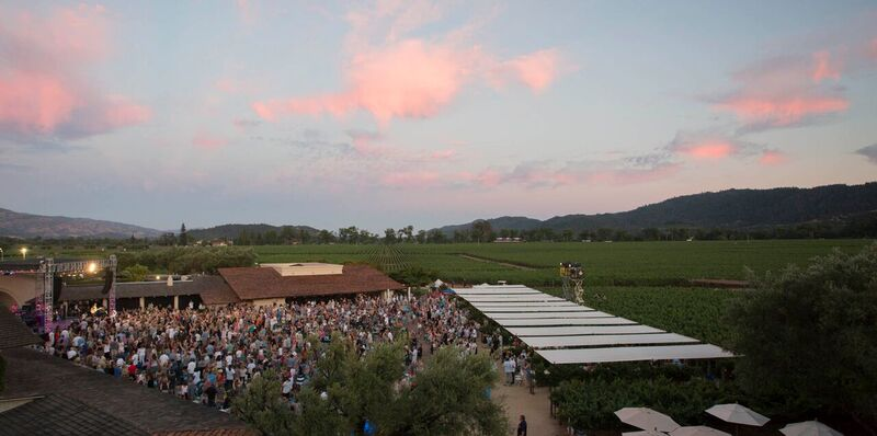 Roberty Mondavi Winery's Summer Concert Series