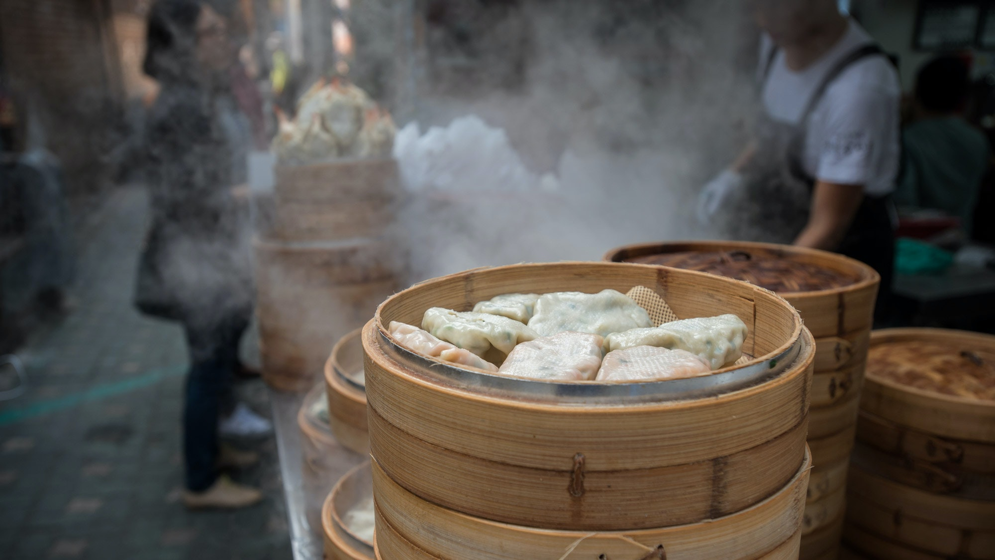 What's more comforting than street dumplings?