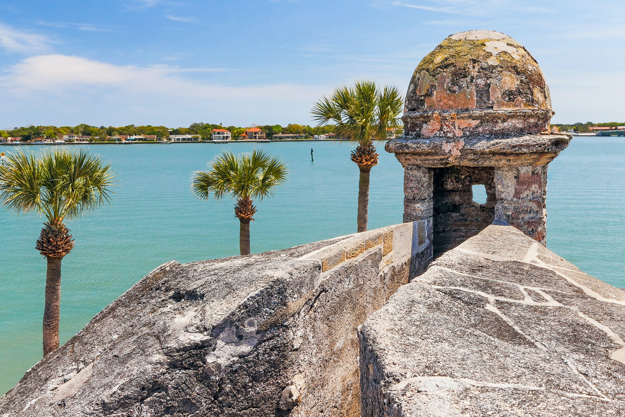History buffs will love a visit to Castillo de San Marcos National Monument.