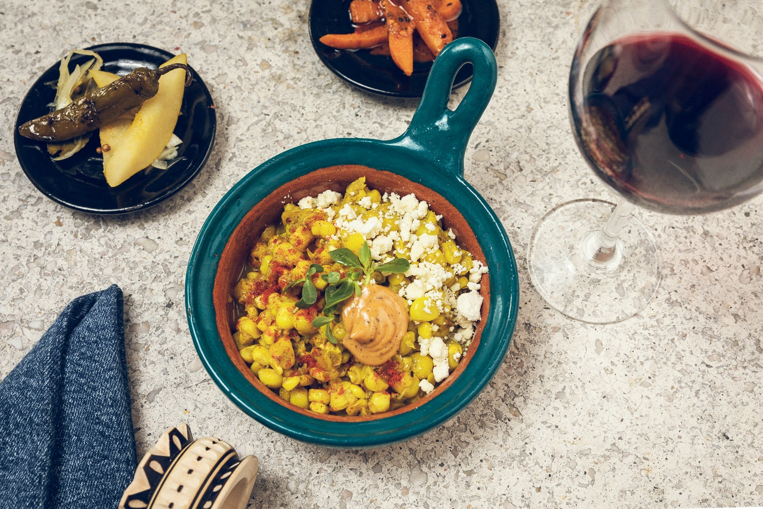 Mexico City restaurant Masala y Maiz serves a number of corn-based dishes.