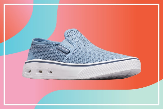 The Spinner Vent Moc looks like a sneaker but is made to be worn both in and out of the water.