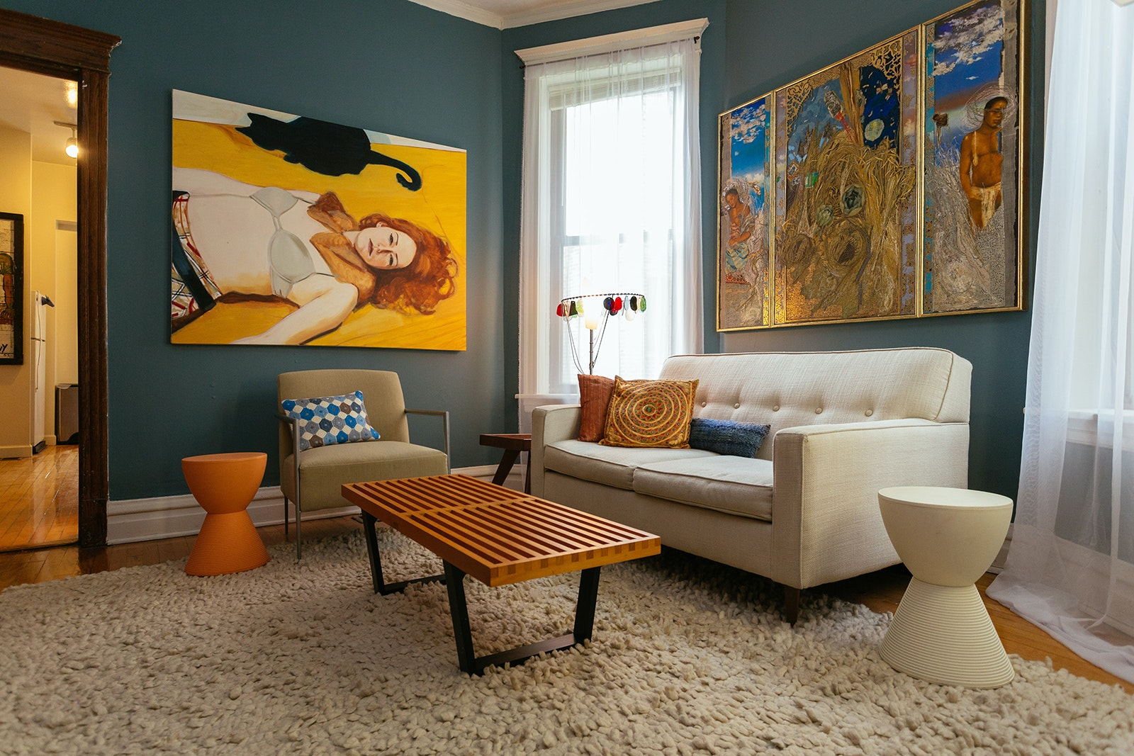 Artsy digs await in this shared apartment in Uptown.