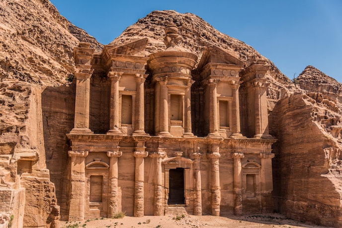 The Monastery at Petra was built more than 2,000 years ago, likely as a temple.