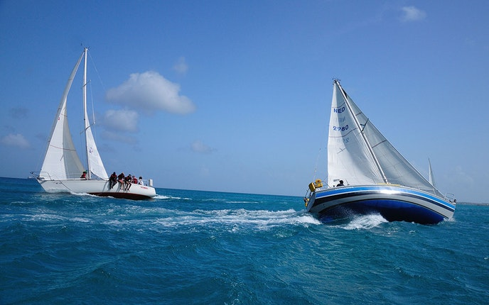The Aruba International Regatta means a weekend of sailing races, beach parties, and award ceremonies.