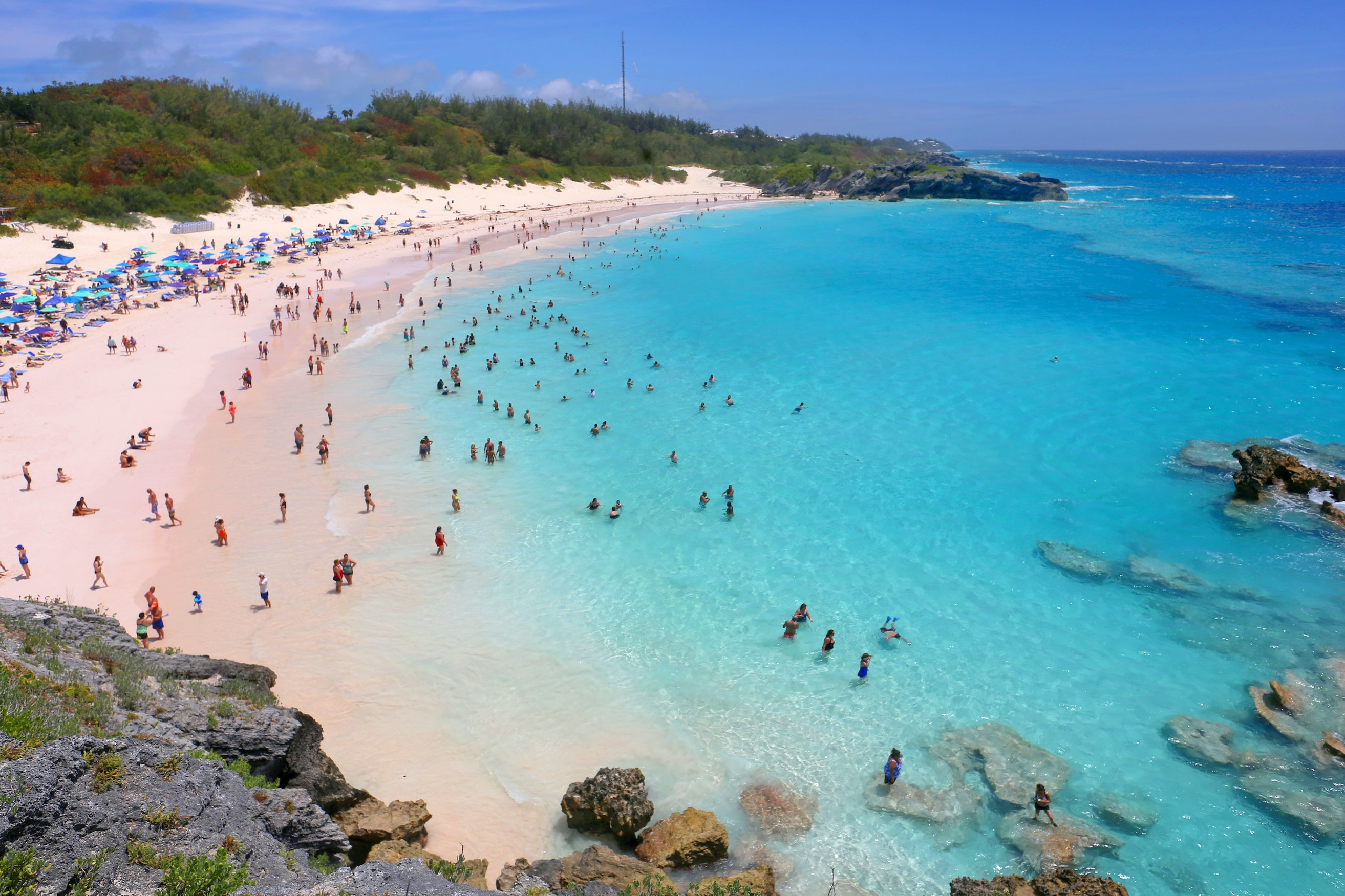 Get some beach time in Bermuda on Celebrity Cruises's Celebrity Summit.
