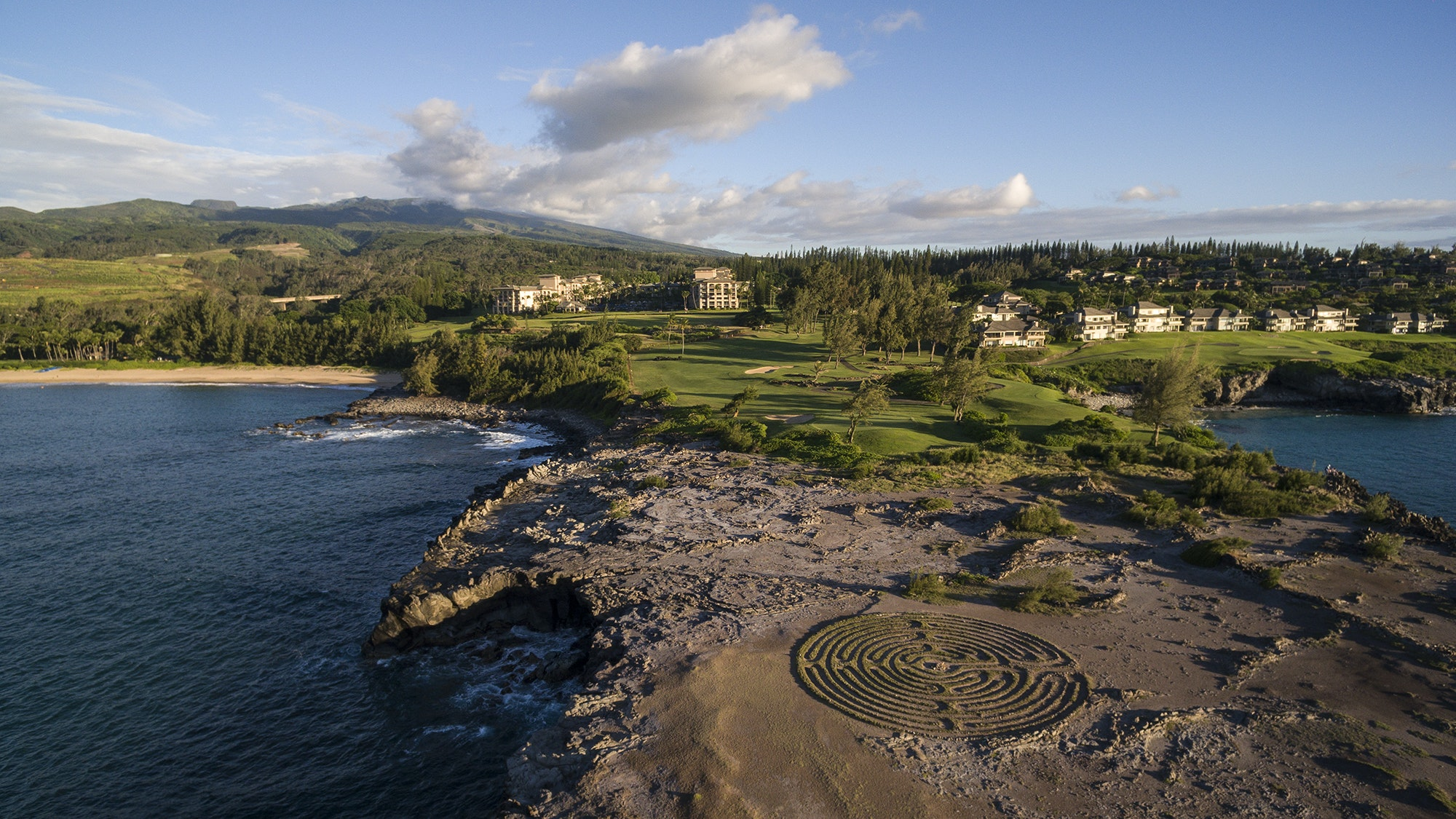 Rugged Makaluapuna Point is an easy stroll from the Ritz-Carlton Kapalua.