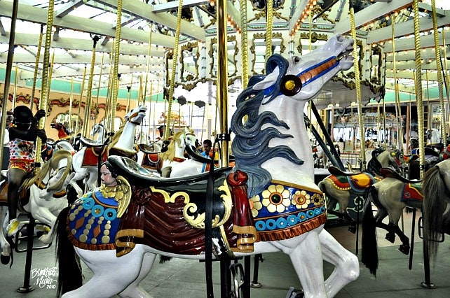 Looff Carousel, Santa Cruz Boardwalk