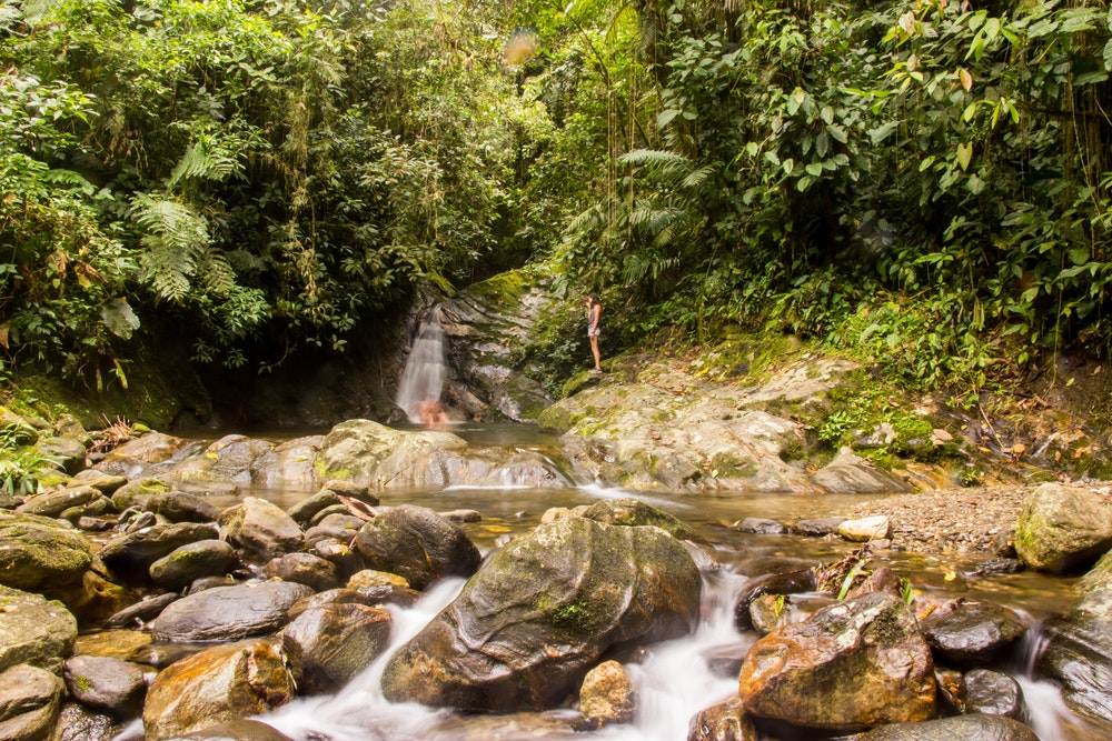 Hikers to the Lost City must cross waters that rise during the wet season.