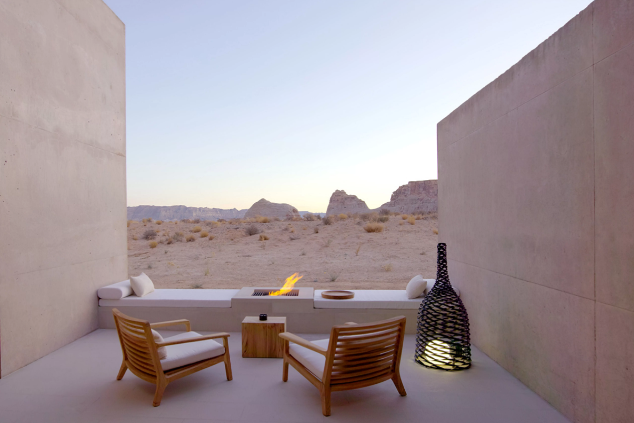 Amangiri sits within easy reach of the Grand Canyon, Bryce Canyon, Zion National Park, and Monument Valley.