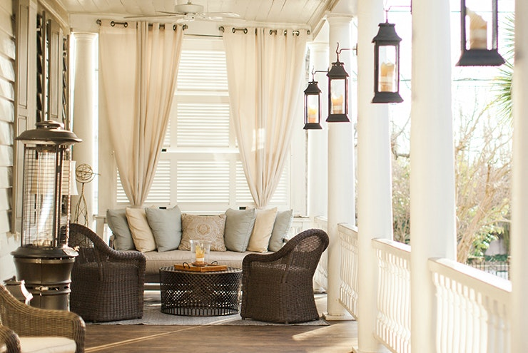Sitting on a veranda at Zero George is the definition of Southern comfort.