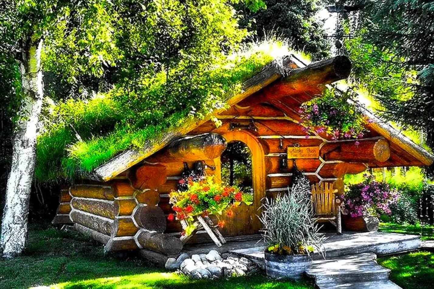 Hobbit Cabin in Talkeetna, AK