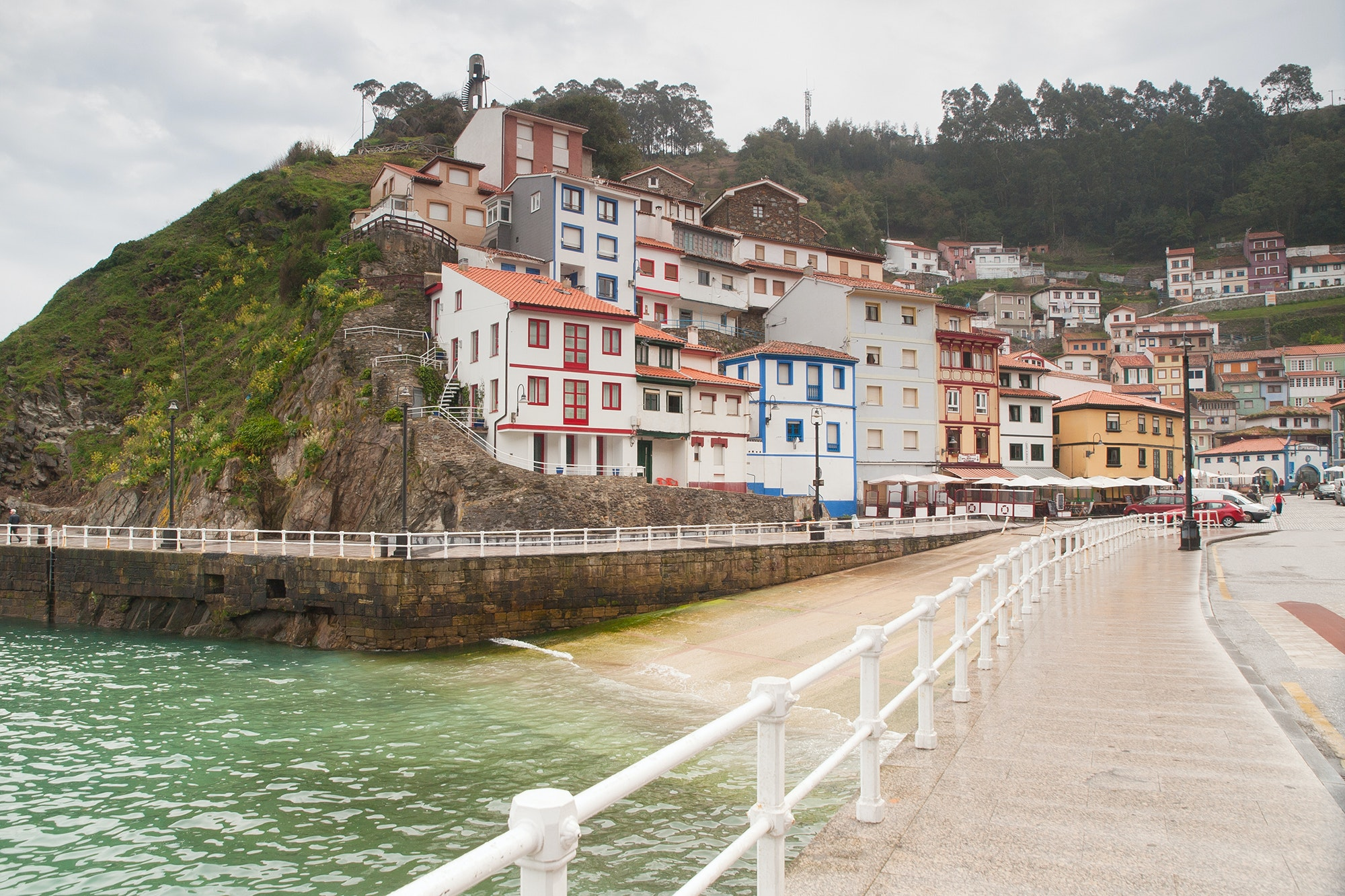 The coastal village of Cudillero came in second in the vote.