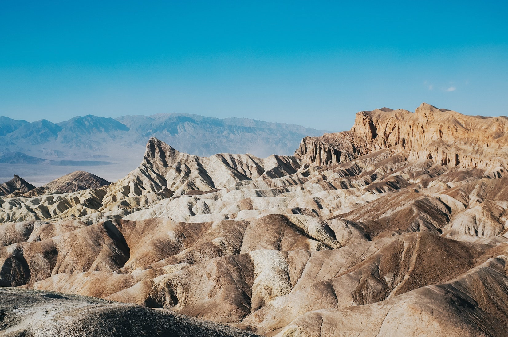 Death Valley is the nation's hottest, driest, and lowest national park.