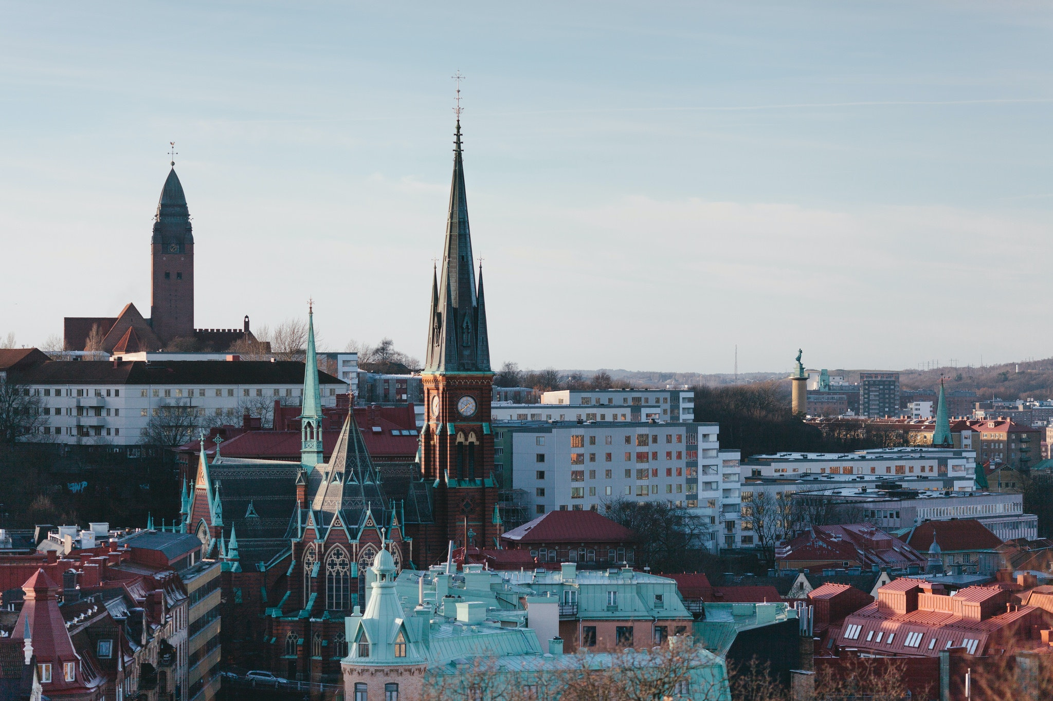 Gothenburg is the largest city in West Sweden.