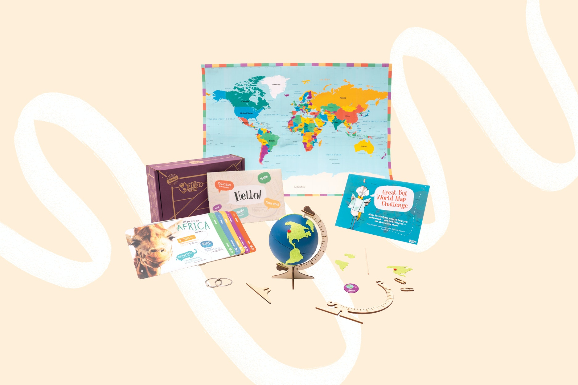 Little travelers like subscription gifts, too!