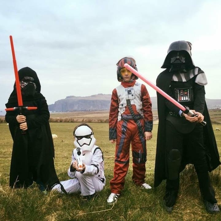 Kids, costumes, and costumed kids are welcome at Ireland's first May the Fourth festival.