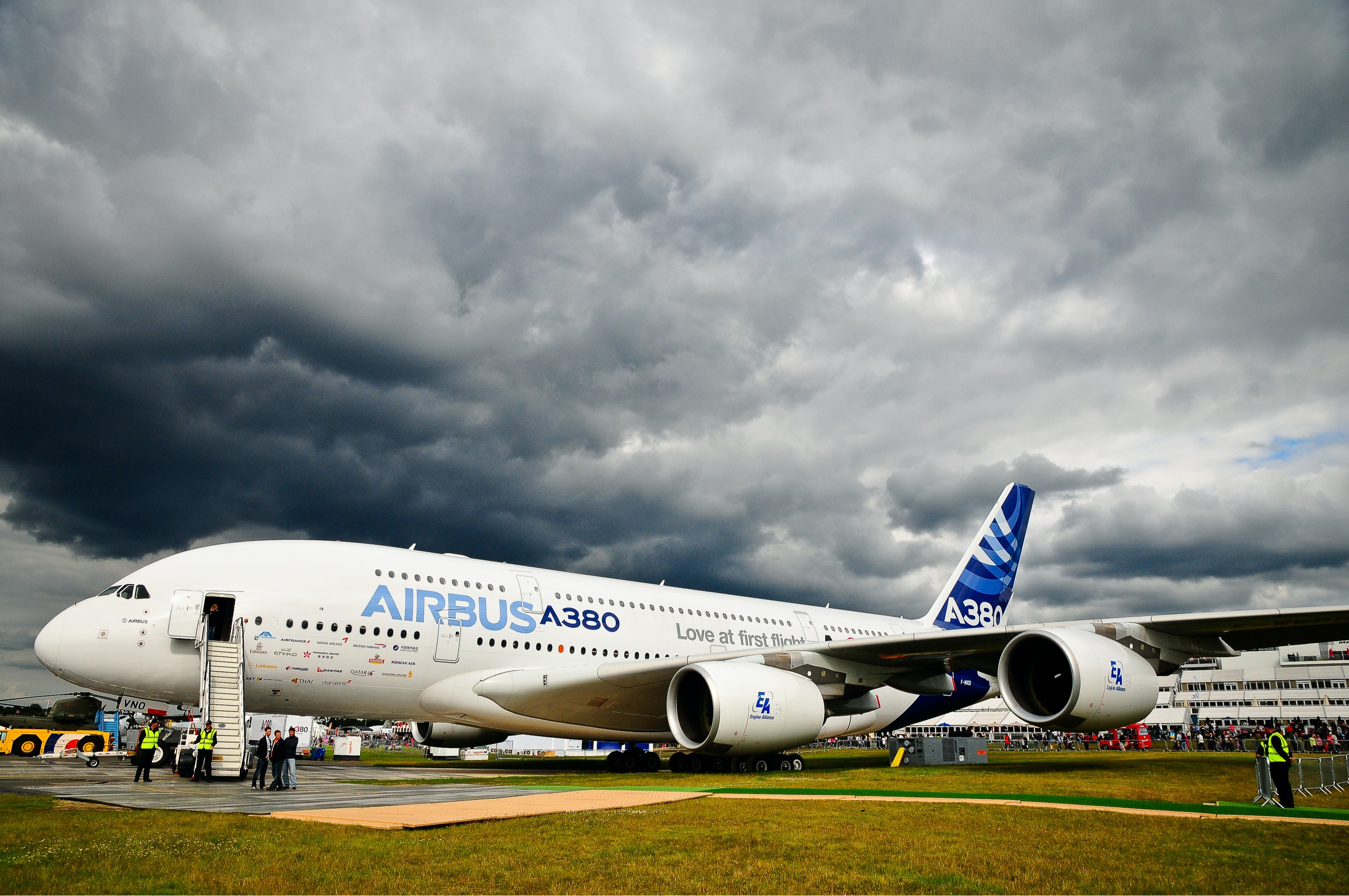 Turning an Airbus A380 around in a couple of hours is no easy task.