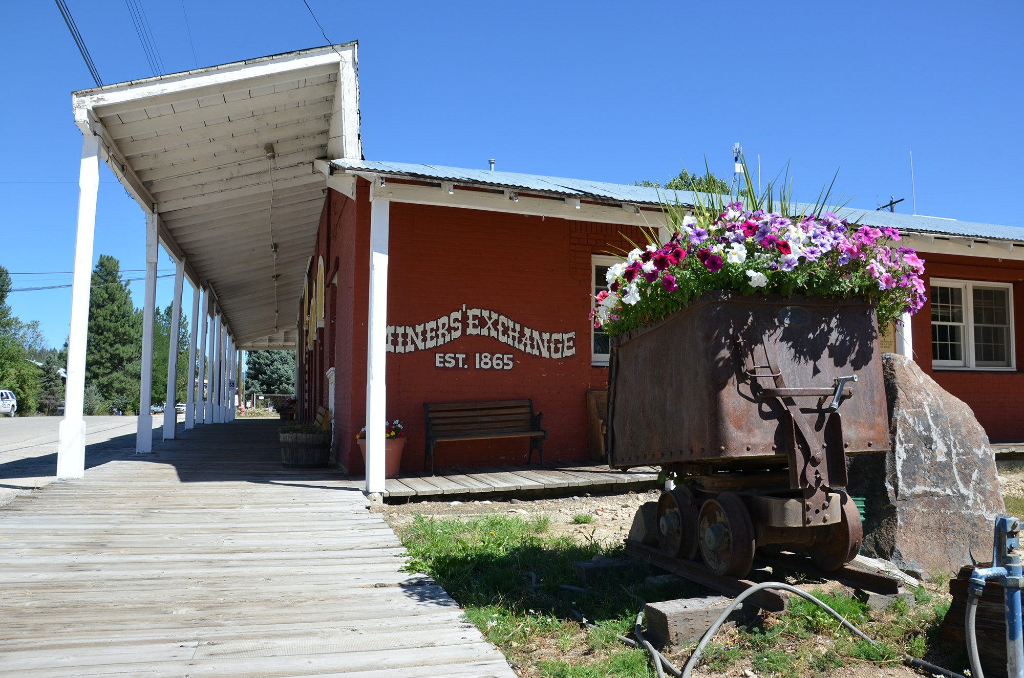With its boardwalks and dusty streets, Idaho City is a preserved mining town from the 1800s.