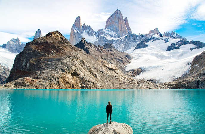 September is early in Patagonia's tourist season, meaning the trails will be relatively empty.