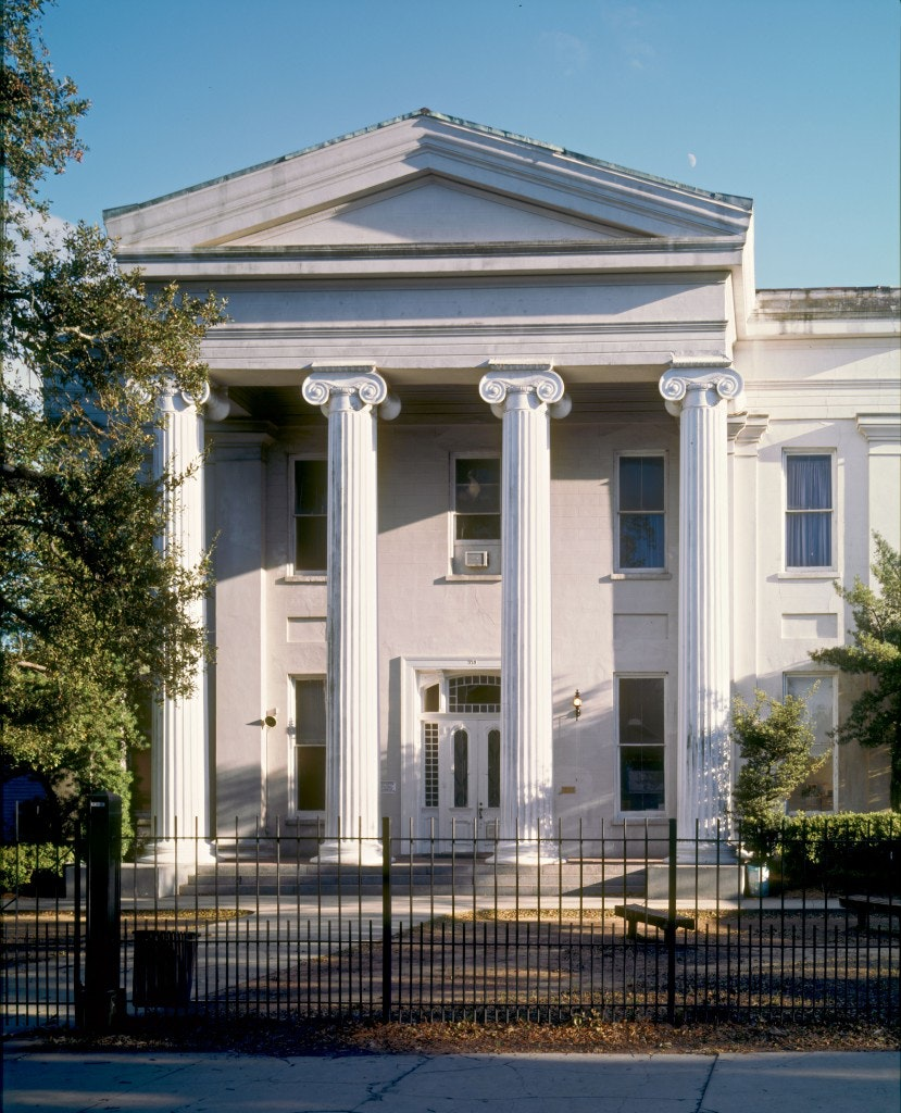 Carrollton courthouse, New Orleans architecture