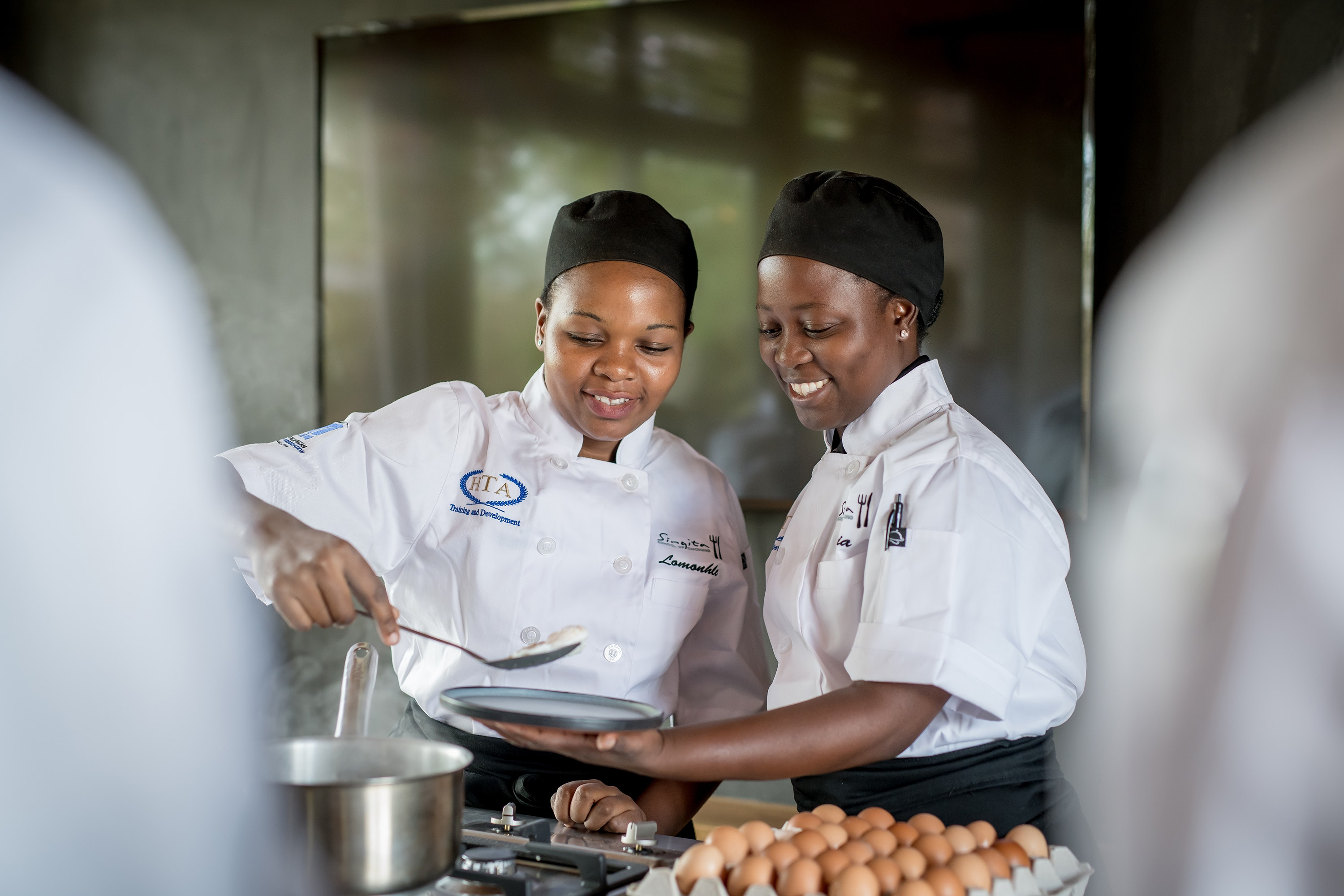 Singita operates two cooking schools, one in Tanzania and one in South Africa.