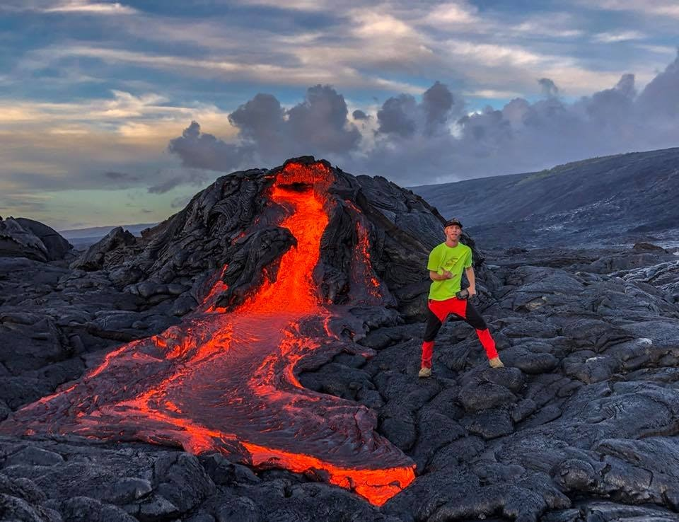 Lava can be unpredictable, which is why it's so important to be prepared and be careful.