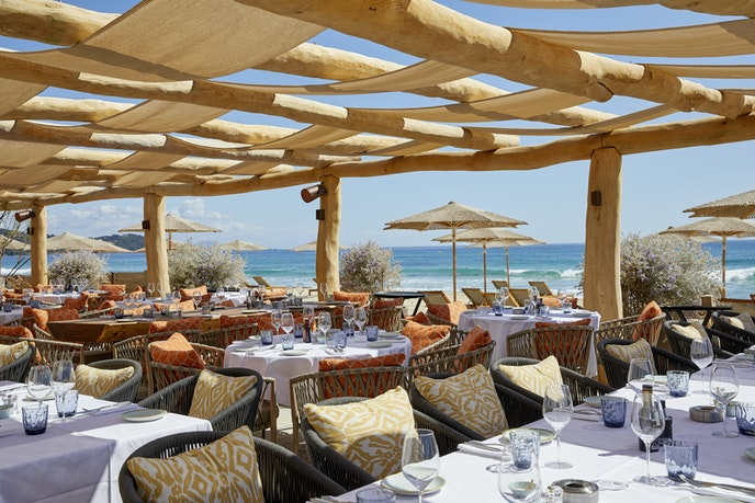 A new chef is making the iconic view of Byblos Beach even tastier.